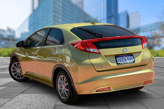 2012 Honda Civic 9th Gen VTi-S Yellow 5 Speed Sports Automatic Hatchback