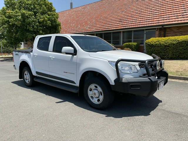 Used Holden Colorado RG MY16 LS, 2015 Holden Colorado RG MY16 LS White 6 Speed Automatic Dual Cab