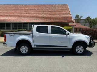 2015 Holden Colorado RG MY16 LS White 6 Speed Automatic Dual Cab.