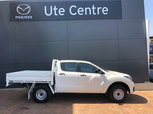 Demo Mazda BT-50 UR0YG1 XT, 2019 Mazda BT-50 UR0YG1 XT 6 Speed Manual Cab Chassis