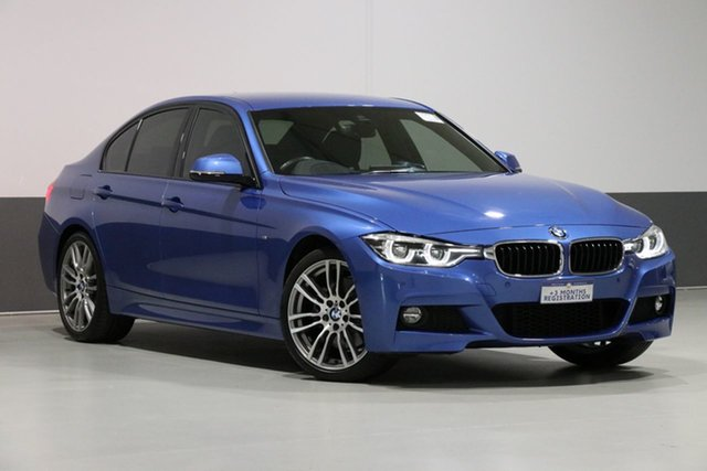 Used BMW 330i F30 LCI M Sport, 2018 BMW 330i F30 LCI M Sport Blue 8 Speed Automatic Sedan