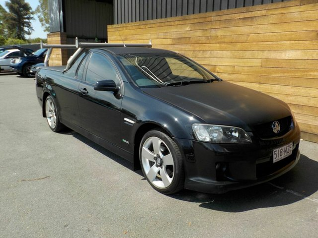 Used Holden Ute VE MY10 SV6, 2010 Holden Ute VE MY10 SV6 Black 6 Speed Sports Automatic Utility