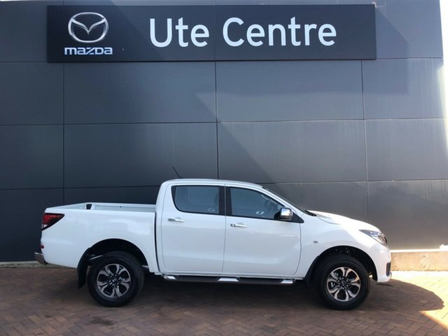 Demo Mazda BT-50 UR0YG1 XTR, 2019 Mazda BT-50 UR0YG1 XTR White 6 Speed Sports Automatic Utility