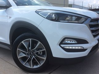 2017 Hyundai Tucson TL MY18 Active X 2WD White 6 Speed Sports Automatic Wagon.