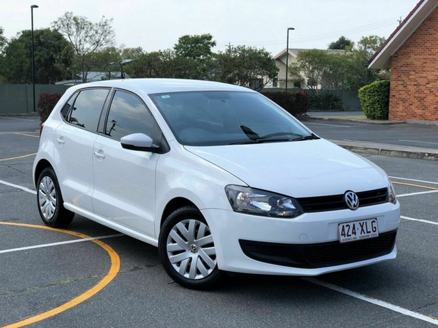 Used Volkswagen Polo 6R MY14 Trendline DSG, 2014 Volkswagen Polo 6R MY14 Trendline DSG White 7 Speed Sports Automatic Dual Clutch Hatchback
