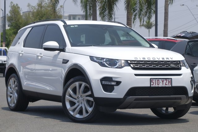 Used Land Rover Discovery Sport L550 17MY TD4 150 SE, 2016 Land Rover Discovery Sport L550 17MY TD4 150 SE Fuji White 9 Speed Sports Automatic Wagon