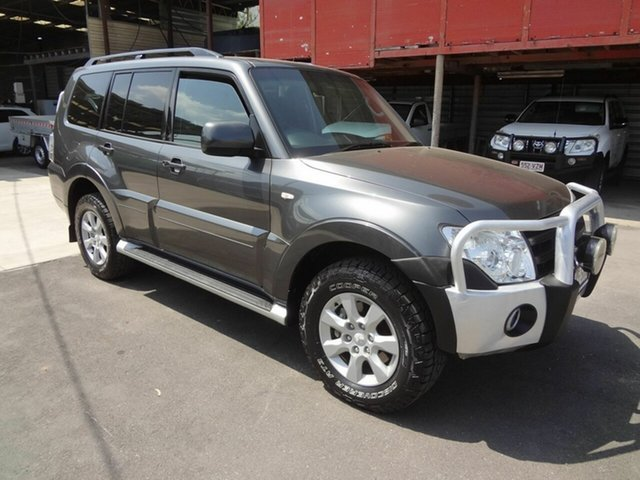 Used Mitsubishi Pajero NW MY12 Activ, 2012 Mitsubishi Pajero NW MY12 Activ Grey 5 Speed Auto Sports Mode Wagon