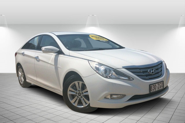 Used Hyundai i45 YF MY11 Elite, 2012 Hyundai i45 YF MY11 Elite White 6 Speed Sports Automatic Sedan