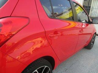 2012 Hyundai i20 PB MY12 Active Red 5 Speed Manual Hatchback