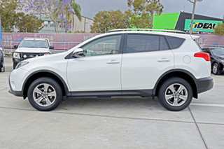 2015 Toyota RAV4 ZSA42R MY14 GXL 2WD Blizzard Pearl 7 Speed Constant Variable Wagon