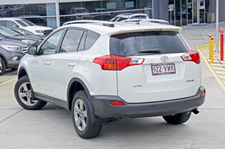 2015 Toyota RAV4 ZSA42R MY14 GXL 2WD Blizzard Pearl 7 Speed Constant Variable Wagon.
