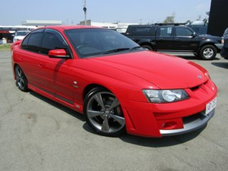 2004 Holden Special Vehicles ClubSport YII R8 Red 4 Speed Automatic Sedan.
