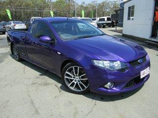 2009 Ford Falcon FG XR6T Purple 6 Speed Auto Seq Sportshift Utility.