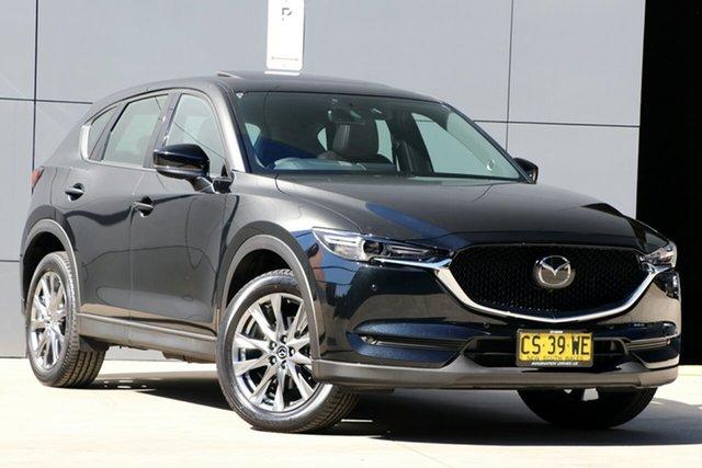 Used Mazda CX-5 KF4WLA Akera SKYACTIV-Drive i-ACTIV AWD, 2018 Mazda CX-5 KF4WLA Akera SKYACTIV-Drive i-ACTIV AWD Jet Black 6 Speed Sports Automatic Wagon