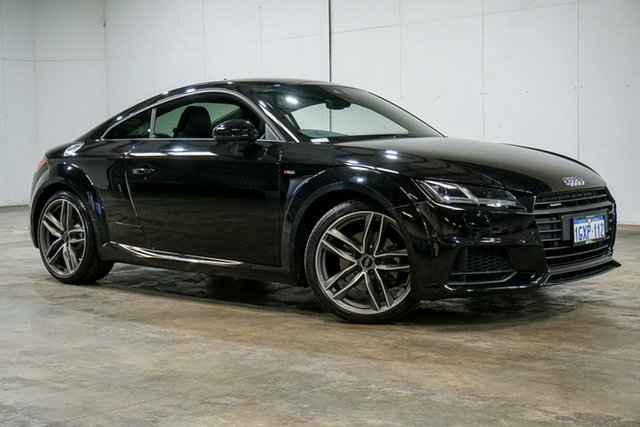 Used Audi TT FV MY17 S Line S Tronic Quattro, 2016 Audi TT FV MY17 S Line S Tronic Quattro Black 6 Speed Sports Automatic Dual Clutch Coupe