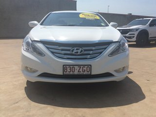 2012 Hyundai i45 YF MY11 Elite White 6 Speed Sports Automatic Sedan