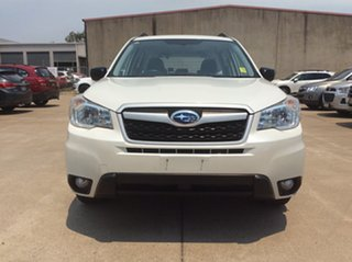 2014 Subaru Forester S4 MY14 2.5i Lineartronic AWD White 6 Speed Constant Variable Wagon