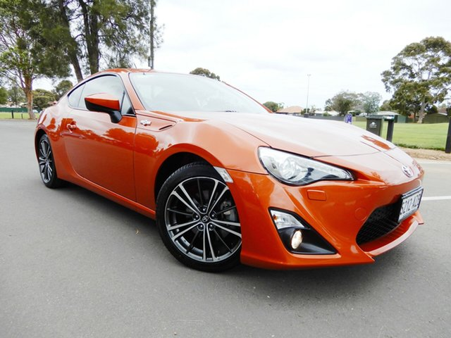 Used Toyota 86 ZN6 GTS, 2013 Toyota 86 ZN6 GTS Orange 6 Speed Sports Automatic Coupe