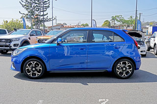 2018 MG MG3 SZP1 MY18 Excite Blue 4 Speed Automatic Hatchback