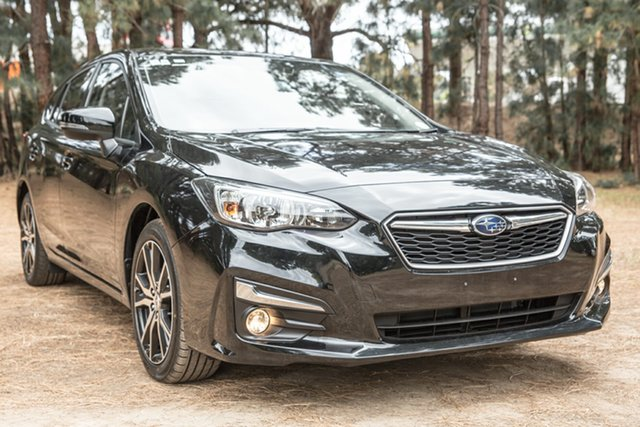 Used Subaru Impreza G5 MY17 2.0i-L CVT AWD, 2017 Subaru Impreza G5 MY17 2.0i-L CVT AWD Black 7 Speed Constant Variable Hatchback