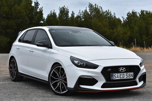 Demo Hyundai i30 PDe.2 MY19 N Performance, 2019 Hyundai i30 PDe.2 MY19 N Performance Polar White 6 Speed Manual Hatchback