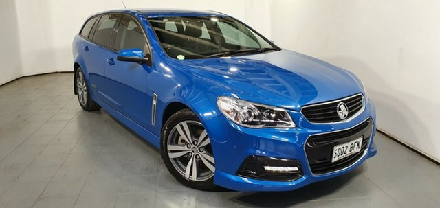 Used Holden Commodore VF MY15 SS Sportwagon, 2015 Holden Commodore VF MY15 SS Sportwagon Blue 6 Speed Sports Automatic Wagon
