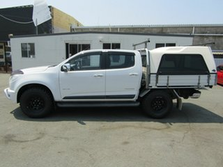 2013 Holden Colorado RG LTZ Thunder (4x4) White 6 Speed Automatic Crew Cab Pickup