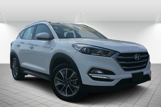 Used Hyundai Tucson TL MY18 Active X 2WD, 2017 Hyundai Tucson TL MY18 Active X 2WD White 6 Speed Sports Automatic Wagon