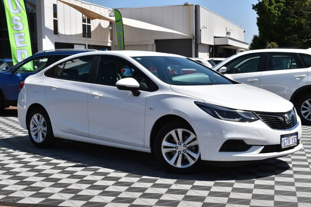 Used Holden Astra BL MY18 LS+, 2018 Holden Astra BL MY18 LS+ Summit White 6 Speed Sports Automatic Sedan