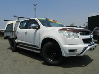 2013 Holden Colorado RG LTZ Thunder (4x4) White 6 Speed Automatic Crew Cab Pickup.