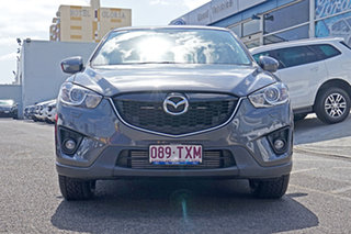 2014 Mazda CX-5 KE1021 MY14 Grand Touring SKYACTIV-Drive AWD Grey 6 Speed Sports Automatic Wagon.
