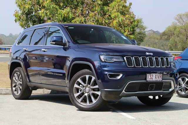 Used Jeep Grand Cherokee WK MY18 Limited, 2018 Jeep Grand Cherokee WK MY18 Limited Blue 8 Speed Sports Automatic Wagon