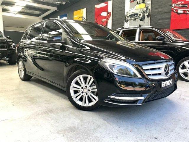 Used Mercedes-Benz B-Class W246 B200, 2014 Mercedes-Benz B-Class W246 B200 Black Sports Automatic Dual Clutch Hatchback