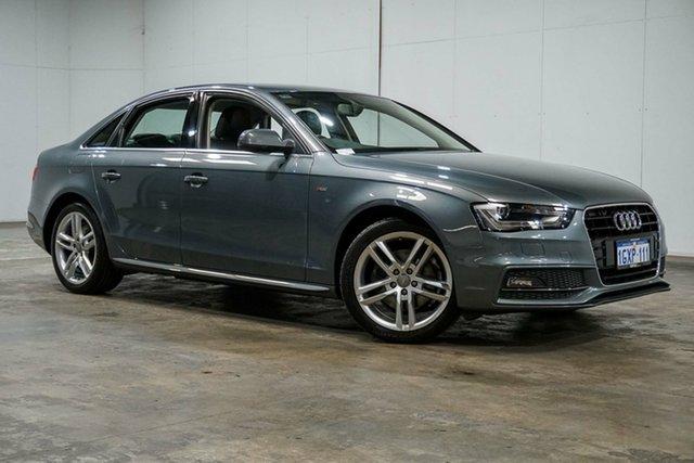 Used Audi A4 B8 8K MY14 S Line Multitronic, 2014 Audi A4 B8 8K MY14 S Line Multitronic Grey 8 Speed Constant Variable Sedan