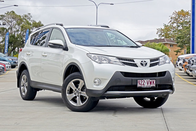 Used Toyota RAV4 ZSA42R MY14 GXL 2WD, 2015 Toyota RAV4 ZSA42R MY14 GXL 2WD Blizzard Pearl 7 Speed Constant Variable Wagon