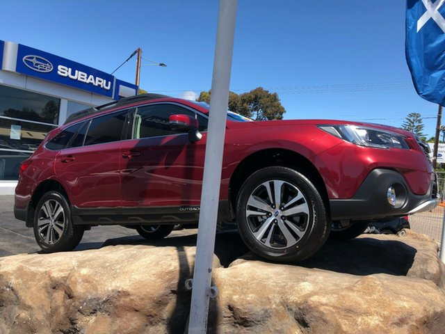 New Subaru Outback B6A MY19 2.5i CVT AWD, 2019 Subaru Outback B6A MY19 2.5i CVT AWD Crimson Red 7 Speed Constant Variable Wagon