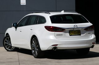 2019 Mazda 6 GL1032 Atenza SKYACTIV-Drive Snowflake White 6 Speed Sports Automatic Wagon.