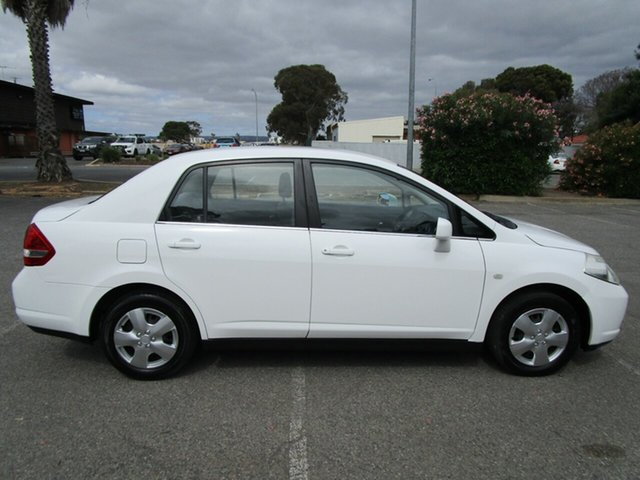 Used Nissan Tiida C11 MY07 ST, 2008 Nissan Tiida C11 MY07 ST 6 Speed Manual Sedan