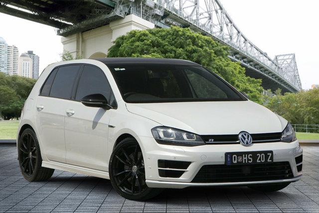 Used Volkswagen Golf VII MY16 R DSG 4MOTION Wolfsburg Edition, 2015 Volkswagen Golf VII MY16 R DSG 4MOTION Wolfsburg Edition White 6 Speed