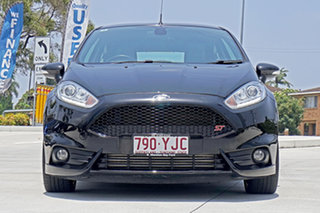 2016 Ford Fiesta WZ ST Black 6 Speed Manual Hatchback.