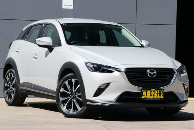 Used Mazda CX-3 DK2W7A sTouring SKYACTIV-Drive FWD, 2019 Mazda CX-3 DK2W7A sTouring SKYACTIV-Drive FWD Ceramic 6 Speed Sports Automatic Wagon