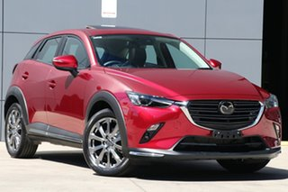 2019 Mazda CX-3 DK4W7A Akari SKYACTIV-Drive i-ACTIV AWD LE Soul Red 6 Speed Sports Automatic Wagon.