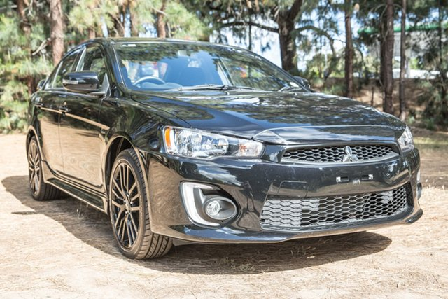 Used Mitsubishi Lancer CF MY17 Black Edition, 2017 Mitsubishi Lancer CF MY17 Black Edition Black 6 Speed Constant Variable Sedan