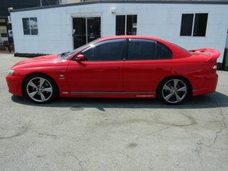 2004 Holden Special Vehicles ClubSport YII R8 Red 4 Speed Automatic Sedan