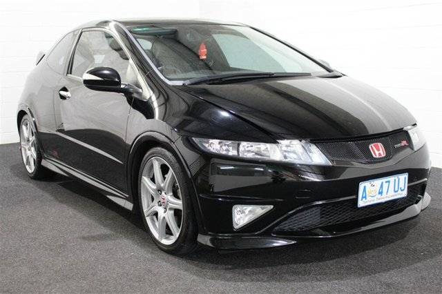 Used Honda Civic 8th Gen MY09 Type R, 2009 Honda Civic 8th Gen MY09 Type R Black 6 Speed Manual Hatchback