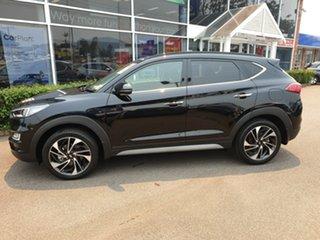 2019 Hyundai Tucson TL3 MY19 Highlander AWD Phantom Black 8 Speed Sports Automatic Wagon.