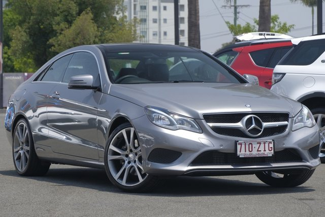 Used Mercedes-Benz E-Class C207 MY14 E200 7G-Tronic +, 2014 Mercedes-Benz E-Class C207 MY14 E200 7G-Tronic + Silver 7 Speed Sports Automatic Coupe