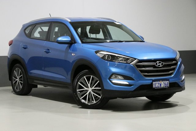 Used Hyundai Tucson TL Active X (FWD), 2016 Hyundai Tucson TL Active X (FWD) Blue 6 Speed Automatic Wagon