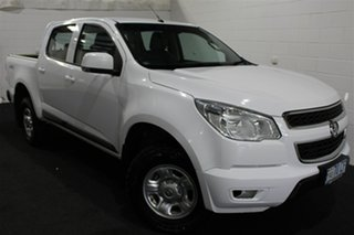 2016 Holden Colorado RG MY17 LS Pickup Crew Cab White 6 Speed Manual Utility.