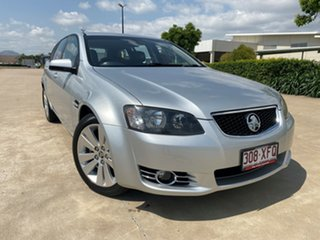 2012 Holden Commodore VE II MY12.5 Z Series Sportwagon Silver 6 Speed Sports Automatic Wagon.